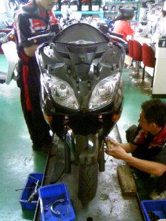 バイク治療