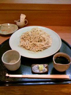 兵庫三田で蕎麦
