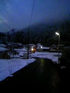 大雪?関西